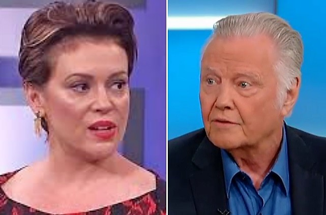 Jon Voight Hits Back At Alyssa Milano After Her Vicious Attacks: 'Ignorance Does Not Scare Me'