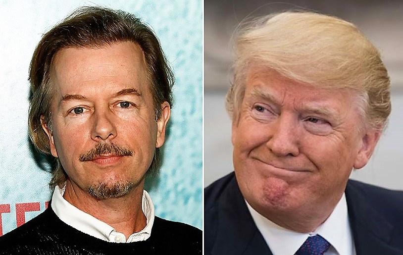 Actor David Spade Refuses To Trash The President – Says Anti-Trump Jokes Are Off-Limits