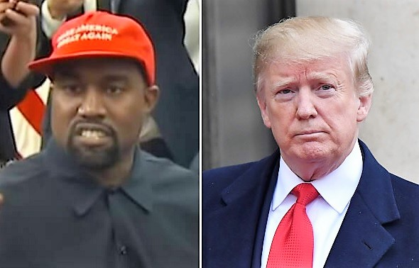 Trump & Kanye West Join Forces To Help American Rapper In Swedish Prison
