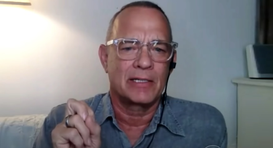 Tom Hanks Gets Torched After He Questioned The Patriotism Of Americans Who Don't Wear Masks