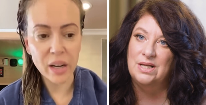 "Tara Reade Claims Alyssa Milano Is An ""Enabler Of Rape"" After She Suggested Rose McGowan Is a Fraud"