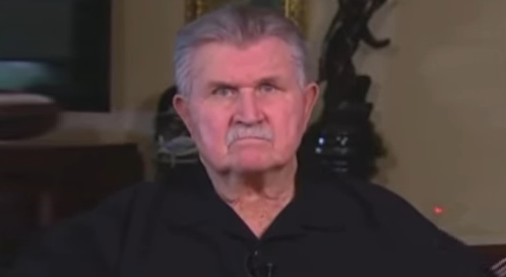 Former NFL Legend Mike Ditka Rips Anthem-Haters Again: 'Bench Them' Until They Learn To Respect This Country