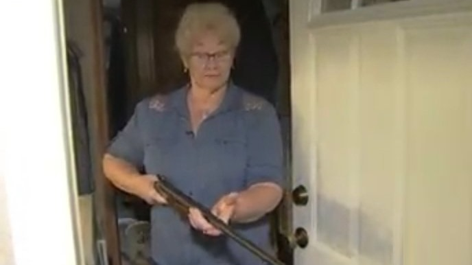 78-Year-Old Lady Holds Intruder At Gunpoint In Washington While Alone With Her Dog