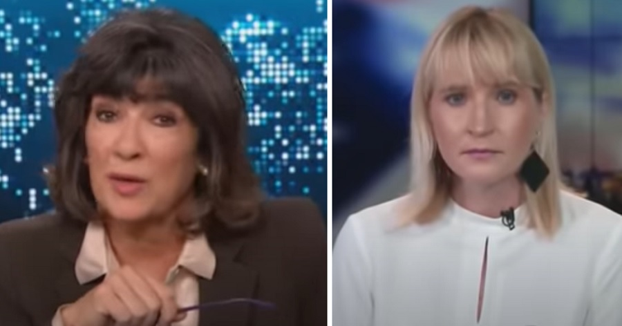 CNN's Amanpour Engages In Heated Exchange With GOP Spox Over Biden Corruption Allegations