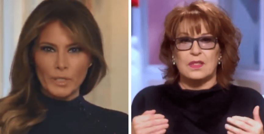 Joy Behar Threatens To Leave The Country If Melania Won't Stop Trump's Border Policy