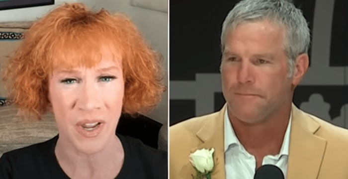 """Your political influence is non existent"" – Kathy Griffin Trashes NFL Legend Brett Favre After He Endorsed Trump"