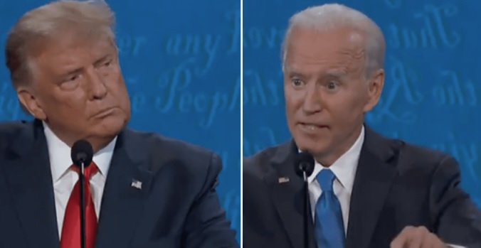 """""""Uh, Why Would You Do That?"""" – Biden Crumbles, Gives An Answer So Strange That Even The Moderator Is Stunned"""