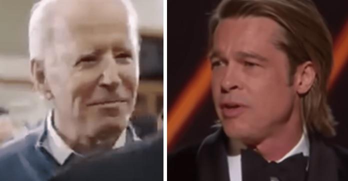 "Hollywood Actor Brad Pitt Narrates New Biden Ad, Calls Him ""a President For All Americans"""