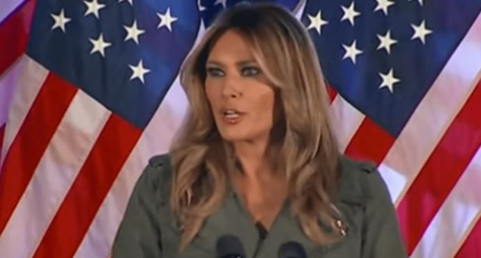"""First Lady Melania Says """"Biden's Policy & Socialist Agenda Will Destroy America"""""""