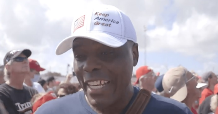 "Supporter Claims Trump Will Get More Black Votes ""Than Any Other Republican In History"""